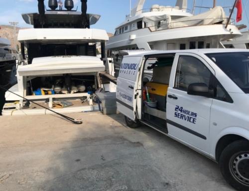 Απόφραξη πλοίων και επισκευές